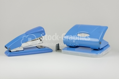 Punch and stapler