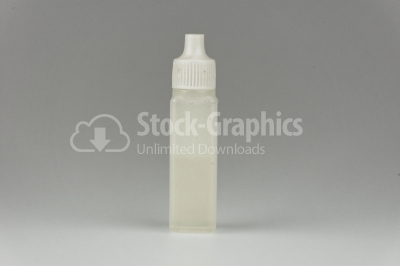 Oil in plastic bottle