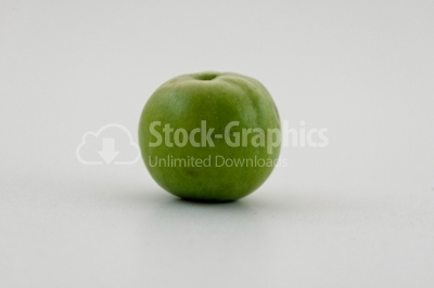 Green apple - Stock Image