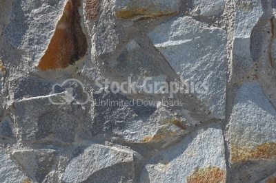 Rocks glued with cement texture