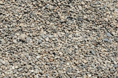 Tapered and rounded pebbles