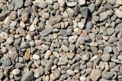 Background or texture of pebbles or gravel