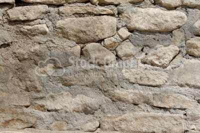 Rock and Concrete Wall