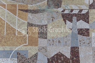 Tiled Mosaic Background