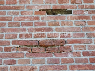 Brick Wall - Stock Image
