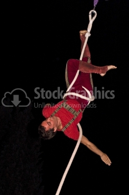 Cirus performer - Stock Image