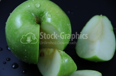 Green Apples- Stock Image