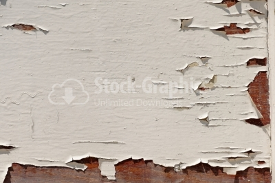 Wood Background with exfoliated paint