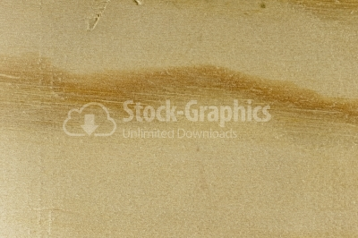 Dune sand drawing on wood
