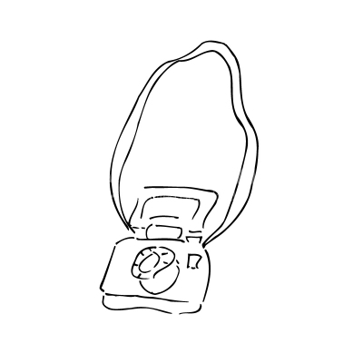 Old photo camera clipart