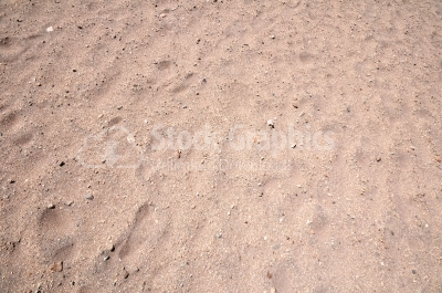 Sand and stone surface