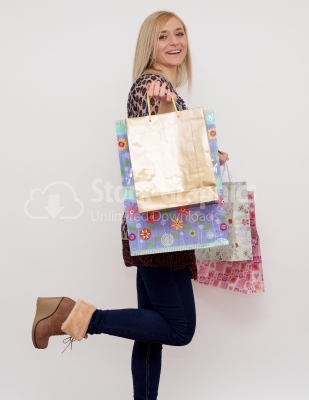 Going to shopping? - Stock Image