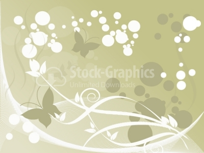 Buterfly vector background