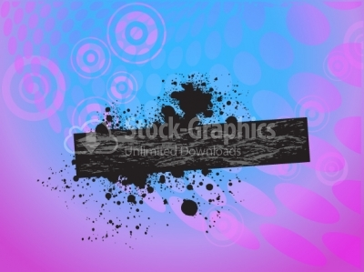 Splash vector background