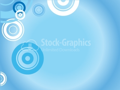 Round vector background