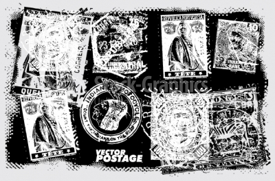 Vector postage