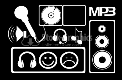 MP3 icons