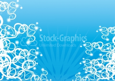 Swirls Vector background