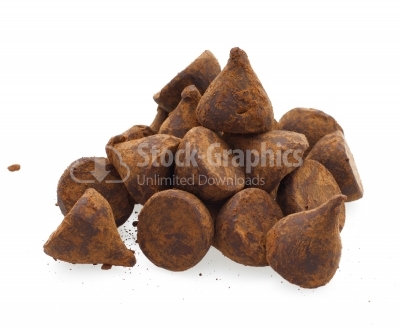 Chocolate truffle candy