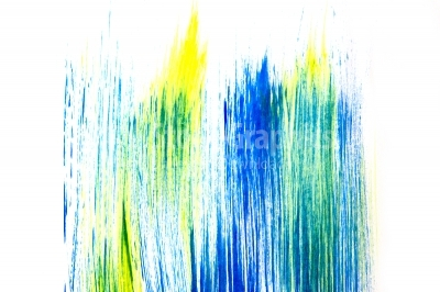 Abstract painting with vertical lines