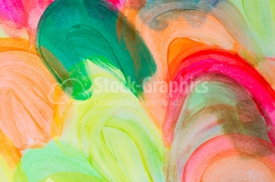 Abstract watercolor painting background.