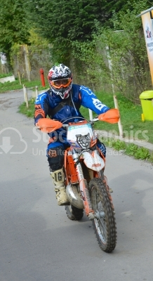Moto cross - Biker at race