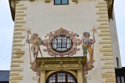 Decoration on Peles Castle