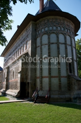 St Johns Church Piatra Neatra Moldavia Romania