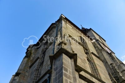 The Black Church is a cathedral in Brasov, a city in south-easte