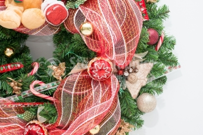 Amazing hand made christmas wreath