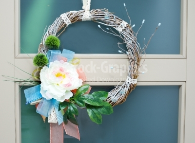 Wreath with branches