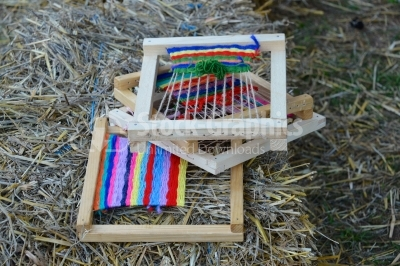 Wool processing and weaving ancient looms ancient crafts histori
