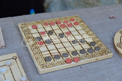 Board game from roman era