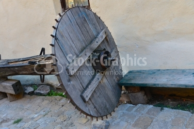 Ancient wheel