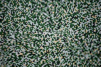Seamless digital green classic camo pattern