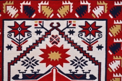 European geometric carpet