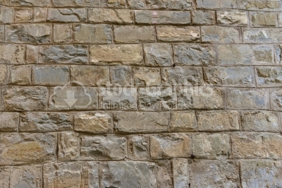 Stone surfaces (a fortress wall)