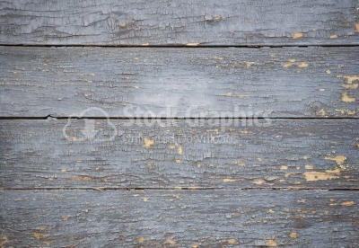 Plank of wood with paint damaged texture