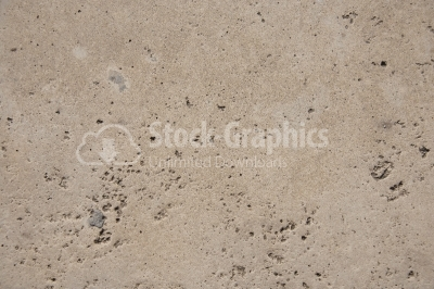 Cement pavement eroded by water. Cement texture