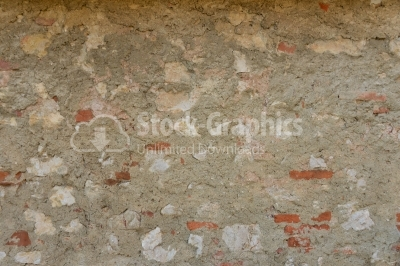 Old surface of cement and brick texture