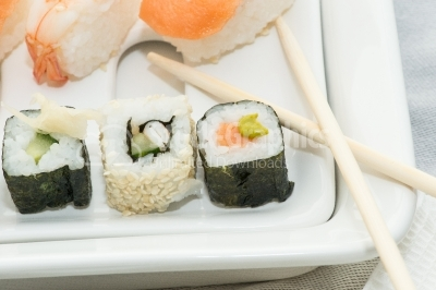 Food closeup - sushi