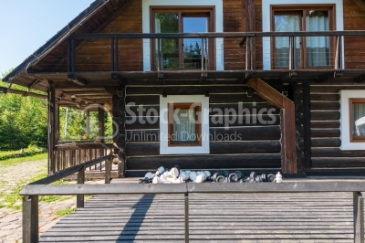Log Cabin near the woods
