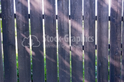 Grey wood Fence