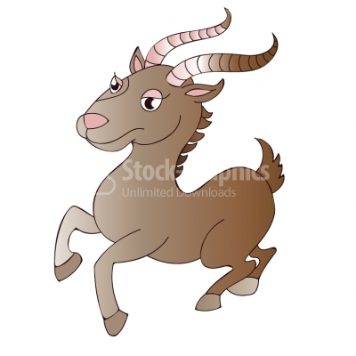 Brown capricorn