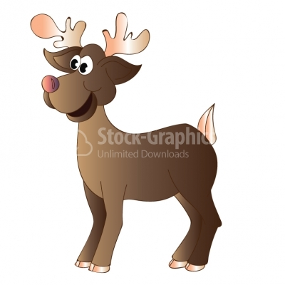 Reindeer - Illustration