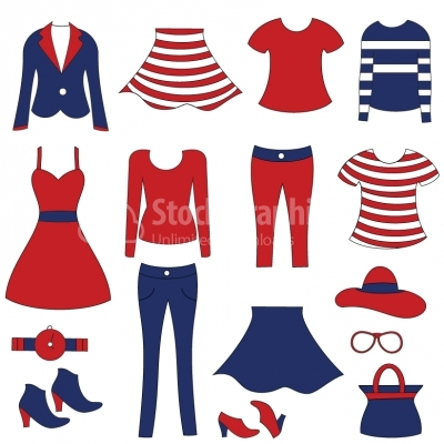 Seafaring clothes Illustration