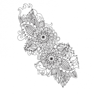 Chinese Style Flower