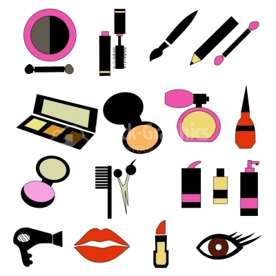 Cosmetic Products Collection - Illustration
