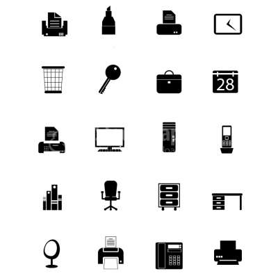 Office Icon set - Illustration
