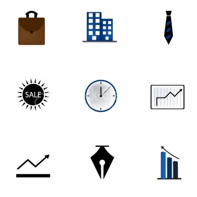Business Icons - Illustration